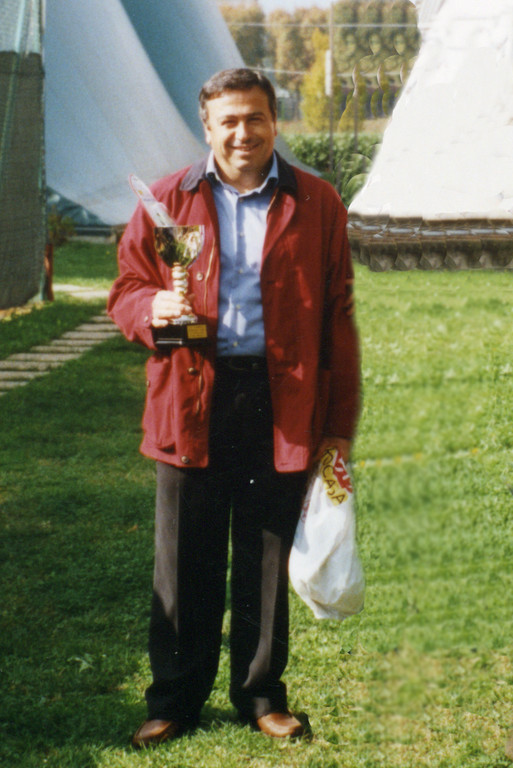 Vincenzo Carcararo, socio per molti anni del Circolo Tennis Pinerolo